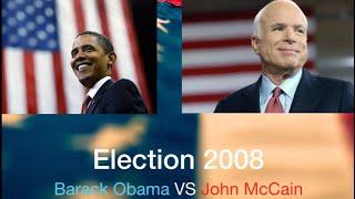 Election 2008 Alternative History:Obama VS McCain-NO RECESSION
