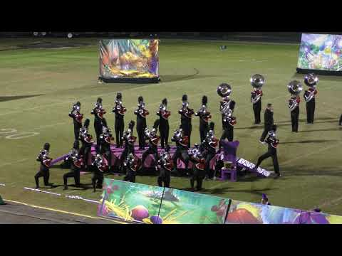 Cary Band Day 2017: Middle Creek High School Mighty Marching Mustangs