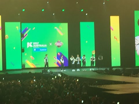 KCON Australia 2017|| Day 1 Vlog/Experience