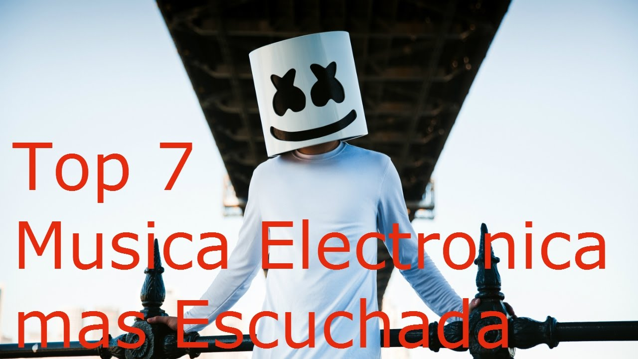 Top 7 Musica Electronica Mas Escuchada 2017 Youtube