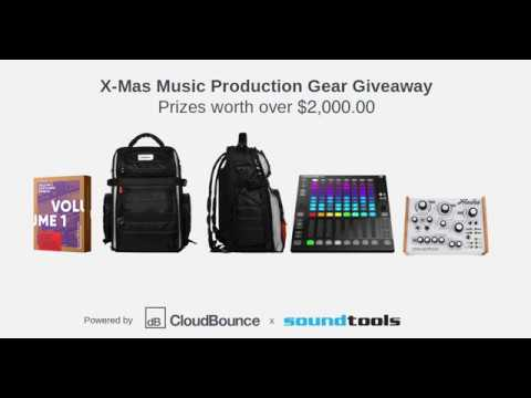 X-Mas Music Production Gear Giveaway by CloudBounce