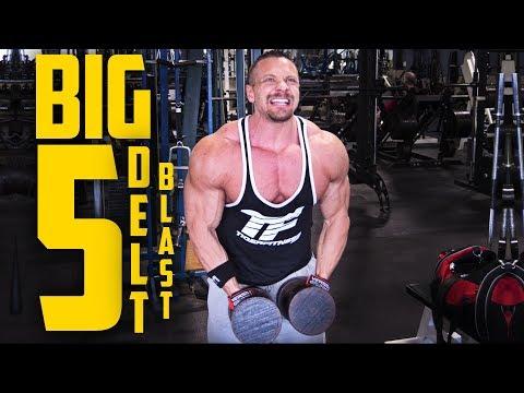 Big 5 Delt Training | Tiger Fitness