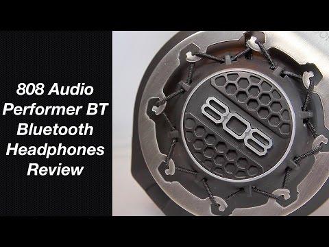 Performer BT Bluetooth Headphone Review - 808 Audio