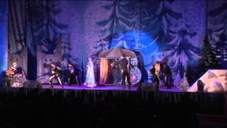 Елка на Воробьевых горах «Волшебная книга Деда Мороза»