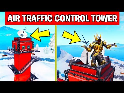 Dance on Top of an Air Traffic Control Tower – LOCATION WEEK 5 CHALLENGE Fortnite Season 7