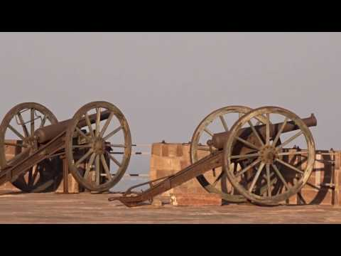 MEHRANGARH FORT( CANNONS WITH REAL SOUND EFFECT ) OF JODHPUR, RAJASTHAN  AS ON (06-02-2017)