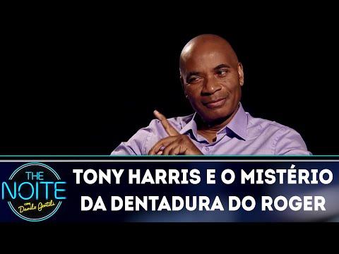 Tony Harris e o mistério da dentadura do Roger | The Noite (05/06/18)