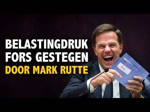 Baudet: Belastingdruk onder Rutte fors gestegen. Belasting NU omlaag!