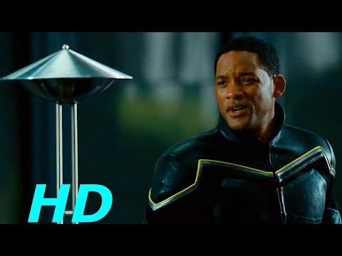 Hancock vs. Red ''Bank Robbery'' - Hancock-(2008) Movie Clip Blu-ray HD Sheitla