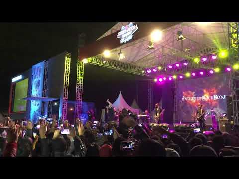 Andra & The BackBone - Main Hati (Suryanation Motorland Hangout 2019 Ruteng)
