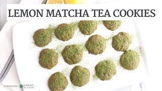 Lemon Matcha Tea Cookies | Gluten-Free Healthy Cookies | Limoneira