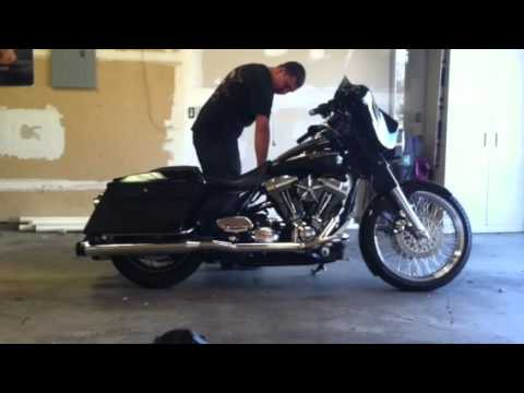 Street glide with arnott air ride - YouTube