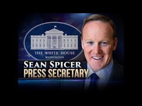 LIVE STREAM: Donald Trump's Press Secretary Sean Spicer Press Briefing from the White Hous