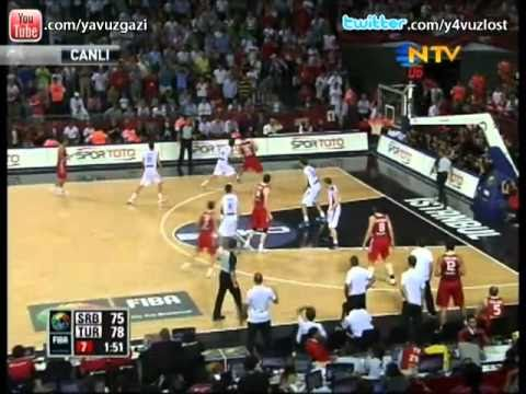 Serbia 82 - 83 Turkey OTTOMAN SLAP Sırbistan - Türkiye 2010 Highlights