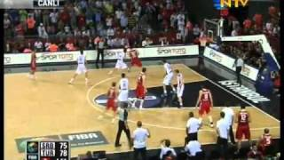 Serbia 82 - 83 Turkey OTTOMAN SLAP Sırbistan - Türkiye 2010 Highlights