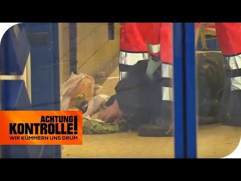 Zusammenbruch im Supermarkt: Warum liegt er am Boden?   Achtung Kontrolle   kabel eins