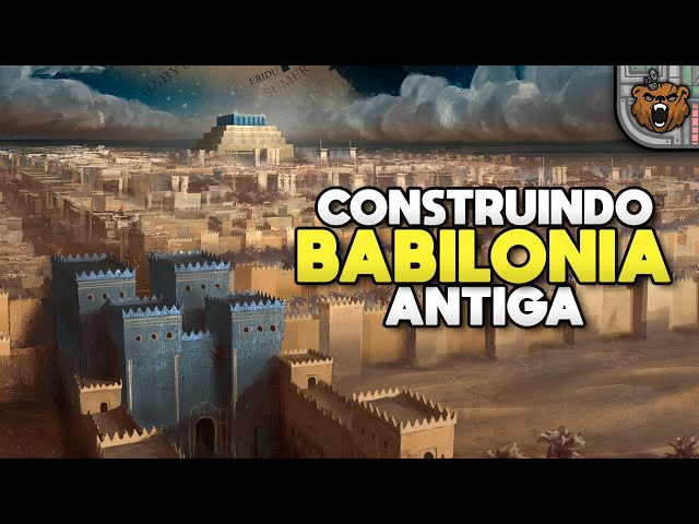 Construindo Cidades na Mesopotâmia! - Nebuchadnezzar | Jogo Rápido - Gameplay 4k PT-BR