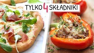 4 SKŁADNIKI - keto pizza z patelni, nadziewane papryczki chilli - PROSTO I SZYBKO