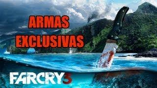 Far Cry 3 - Armas Exclusivas