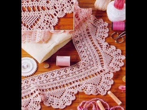 Çeyizlik Tığişi Örgü Uç Danteli Modelleri & Crochet