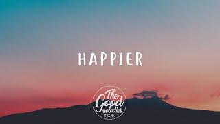 Olivia Rodrigo - happier (Lyrics / Lyric Video)