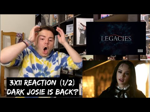 Download LEGACIES - 3x11 'YOU CAN'T RUN FROM WHO YOU ARE' REACTION (1/2)