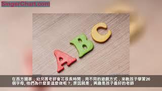 國外幼兒園這樣教孩子學字母,孩子愛學還記得牢,為小學打基礎 1. 自然拼讀字母歌