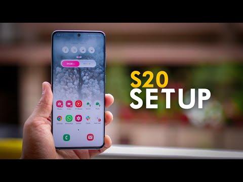 My Galaxy S20 Phone Setup!