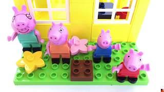 La Casa de Peppa Pig para construir con bloques - Una Mamá Novata
