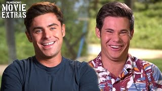 Mike & Dave Need Wedding Dates | On-set with Zac Efron 'Dave' & Adam Devine 'Mike' [Interview]