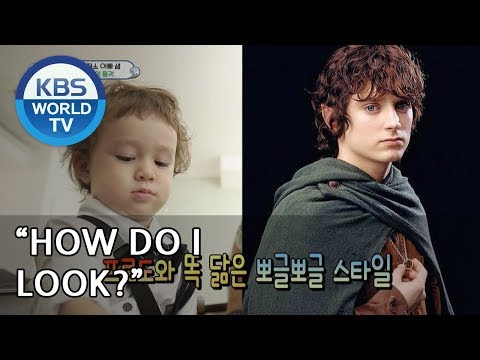 Oh my! William looks like Frodo from