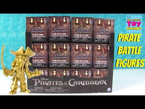 Disney Pirates Of The Caribbean Pirate Battle Figure Blind Box Opening Series 1 | PSToyReviews