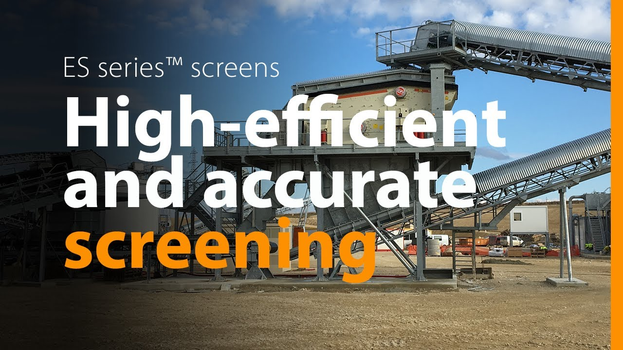 Metso ES screen - more features