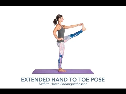 Yoga Poses & Articles   Extended Hand-to-Toe Pose (Utthita Hasta Padangusthasana)