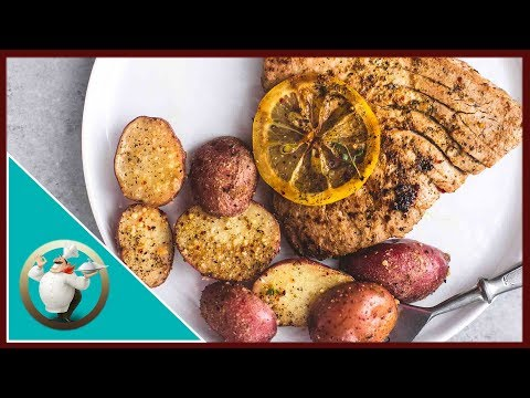 How To Make Lemon Herb Tuna Steaks And Potatoes   Easy Tuna Steaks Recipe In 30 Min