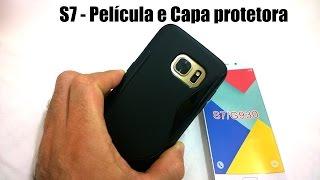 Galaxy S7 - Película de Vidro e Capa Protetora / Fail?