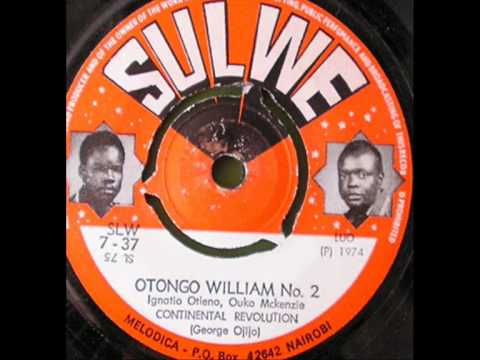 Continental Revolution : Otongo William No.2