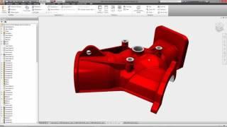 Прямое моделирование в AutoCad Inventor