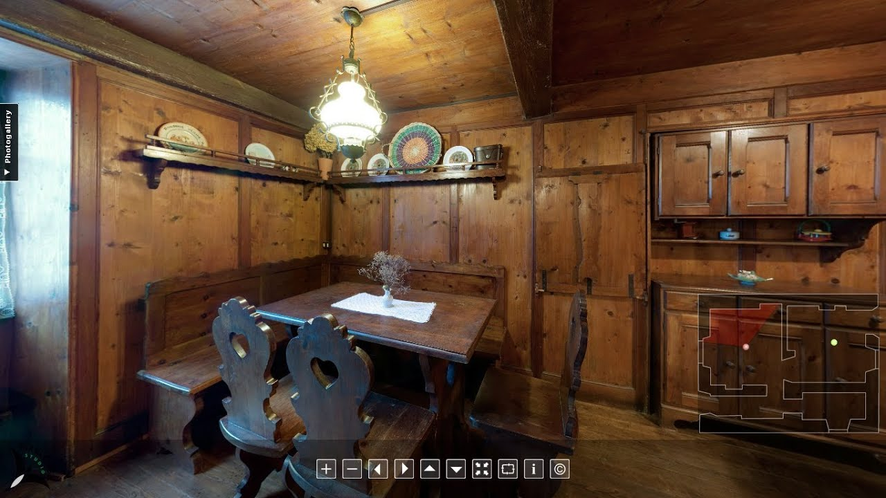 Casa in stile walser costruita nel 1747 youtube for Case in stile missione