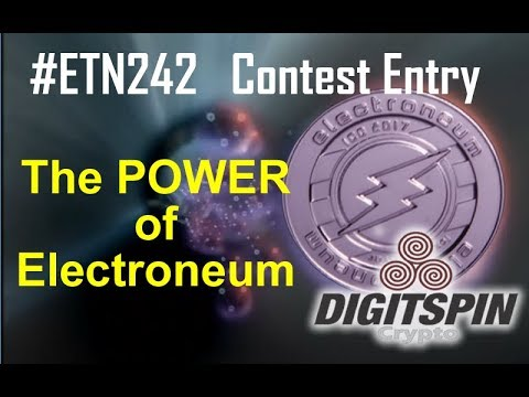 #ETN242 ETN Electroneum - The Power of Electroneum, Parody Meme Contest entry by DigitSpin