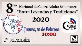 """1 JORNADA - NACIONAL """"SALAMANCA""""  2020"""