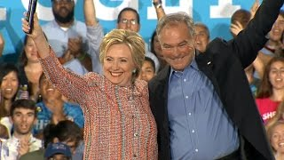 Full Video: Possible VP pick campaigns with Hillary Clinton