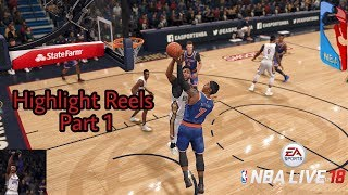 Nba Live 18 Highlight Reels # 1 And Update Two