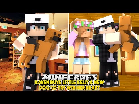 RAVEN BUYS LITTLE KELLY A NEW DOG 🐶🐕| w/Baby Max and Little Leo | Minecraft Custom Roleplay