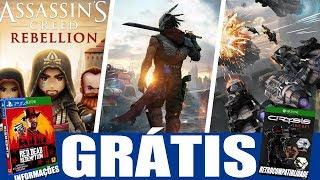 JOGOS GRÁTIS!!! NOVIDADES SOBRE RED DEAD REDEMPTION 2 E CRYSIS NO XBOX ONE