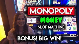 #64 - AWESOME WIN!!  MAX BET!! Monopoly Big Money Wheel