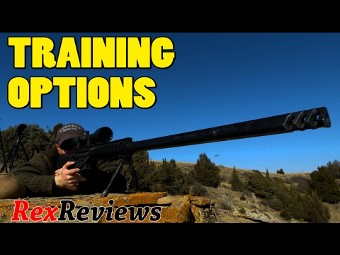 SNIPER 101 Part 100 - Training Options for the BEST Instruction ~ Rex Reviews