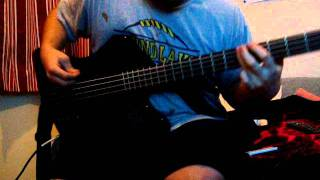 Nirvana Blew Bass Cover (live)