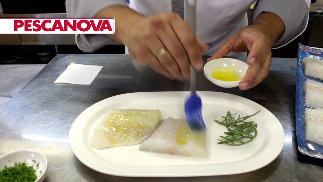 C mo cocinar bacalao a la plancha pescanova v deo receta - Cocinar bacalao congelado ...