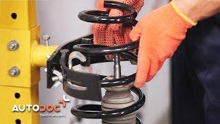Kuinka vaihtaa etujousi VOLVO XC90 -merkkiseen autoon OHJEVIDEO | AUTODOC